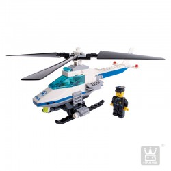 Helicóptero Policial 3 en 1 Armable