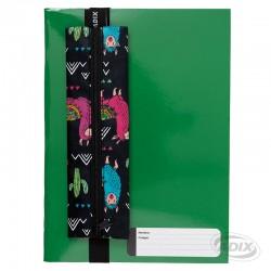 Estuche con Elástico para Cuaderno