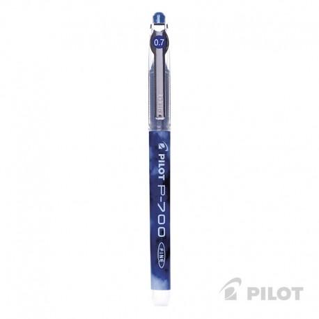 Lápiz Gel PILOT P-700 Punta Fina 0.7 mm Azul