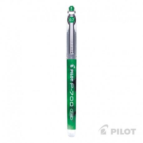 Lápiz Gel PILOT P-700 Punta Fina 0.7 mm Verde