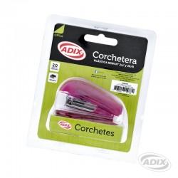 Corchetera Bolsillo+Corchete Rosado