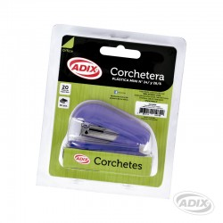Corchetera Bolsillo+Corchete Violeta
