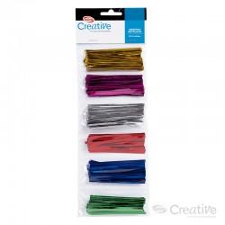Amarras Metálicas 8 cm. 5 Colores