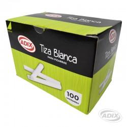Tiza Blanca 100 unid.