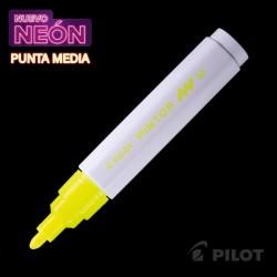 Marcador PINTOR Medio Neón Amarillo
