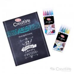 Set de Lettering Dúo CREATIVE