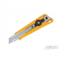 Cuchillo Industrial con Seguro Manual en Blister