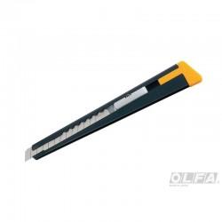 Cuchillo Mediano Metálico con Seguro Automático