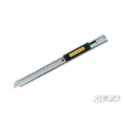 Cuchillo Mediano de Acero Inoxidable con Seguro Automático